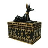 Anubis Box - Egyptian Style Ornament