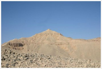 Peak of El-Qurn, Luxor West Bank