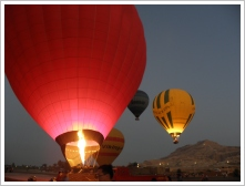 Hot Air Balloon Airport, Luxor West Bank