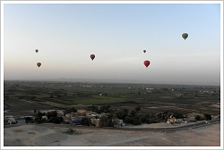 Hot Air Balloons over the Luxor West Bank