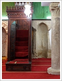 Abu Haggag Mosque, Luxor East Bank, prayer room