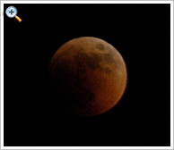 Total Lunar Eclipse over Luxor on 15th June, 2011