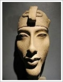 Akhenaten's bust, Luxor Museum of Ancient Egyptian Art, Luxor East Bank