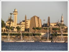 Luxor's East Bank and River Nile
