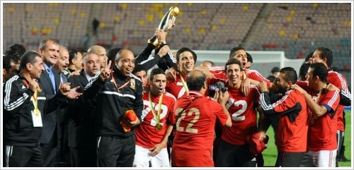 CAF Champions League Cup for Egypt's Al-Ahly, (c) AFP