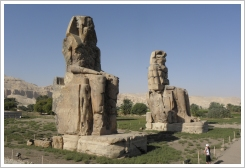 The known Colossi of Memnon, Luxor West Bank