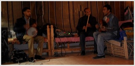 Classic Arabic Music by Hamada's Trio, Luxor West Bank