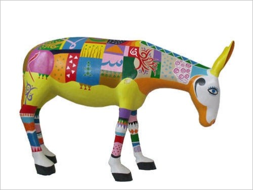 Caravan Festival of the Arts 2013: Donkey by Ashraf Reda, (c) Caravan